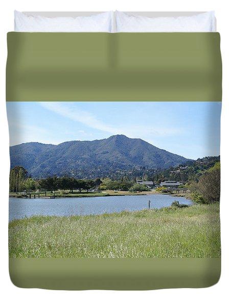 Mount Tamalpais Duvet Cover