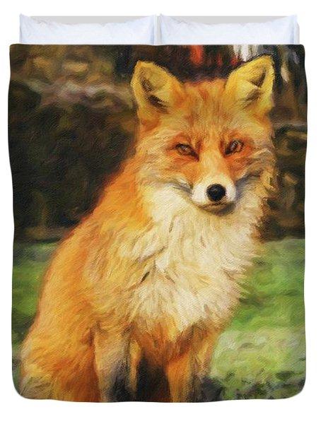 Mr Fox Duvet Cover
