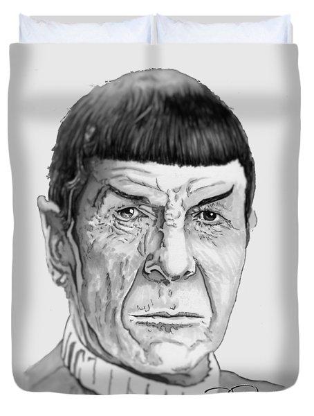 Mr Spock Duvet Cover
