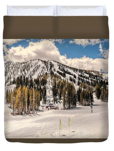 Mt. Rose Duvet Cover