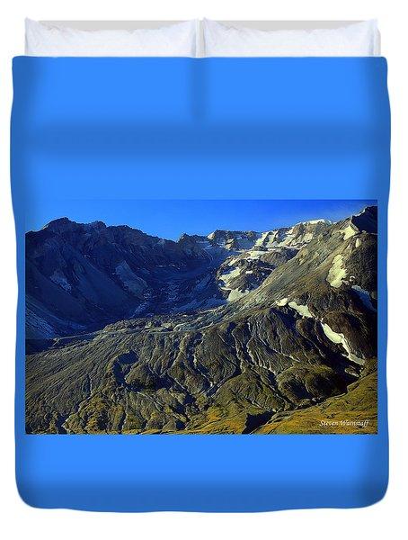 Mt. St. Helens Duvet Cover