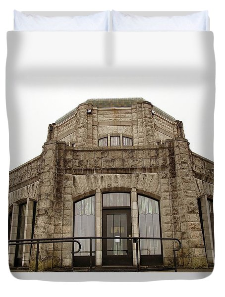 Vista House, Columbia River Gorge, Or. Duvet Cover