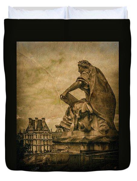 Paris, France - Muse Duvet Cover