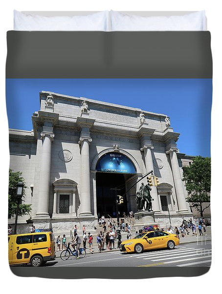 Museum Of Natural History Duvet Cover