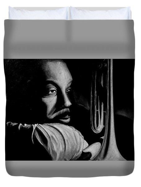 Musical Muse Duvet Cover