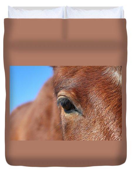 Mustang Macro Duvet Cover