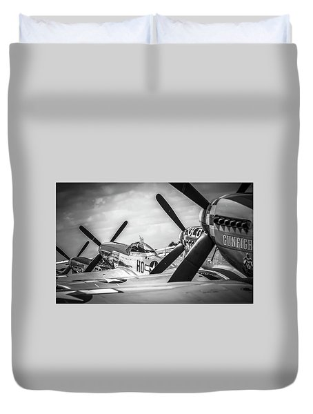 Mustang Ranch Duvet Cover