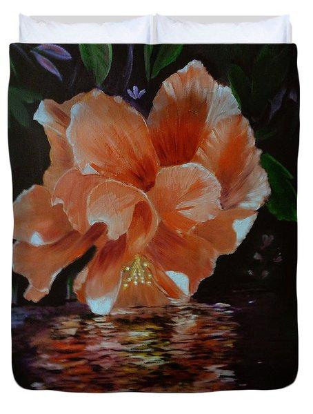My Hibiscus Duvet Cover