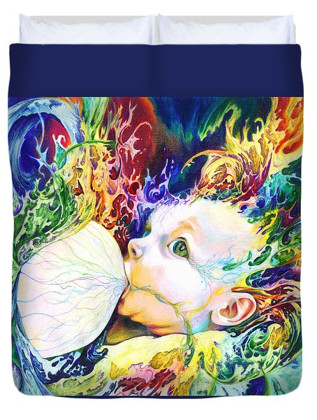 My Soul Duvet Cover by Kd Neeley