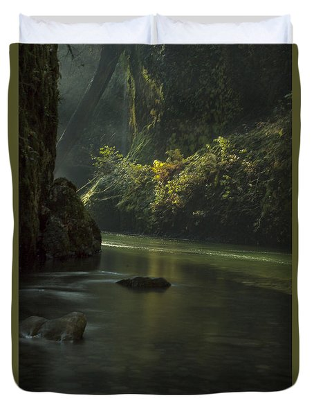 Mystical Canyon Signed Duvet Cover