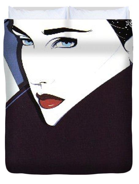 nagel005 Patrick Nagel Duvet Cover