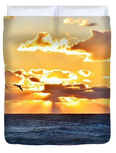 Nags Head Sunrise  Duvet Cover