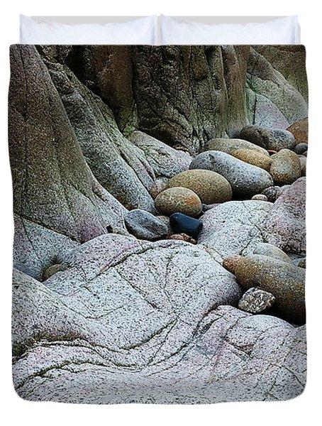 Nanven Rocks Duvet Cover