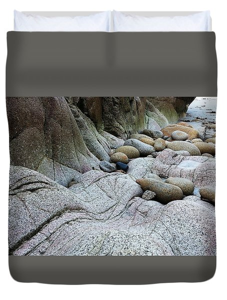 Nanven Rocks Duvet Cover