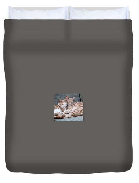 Nap Time Duvet Cover