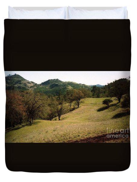 Napa Valley Hills Duvet Cover