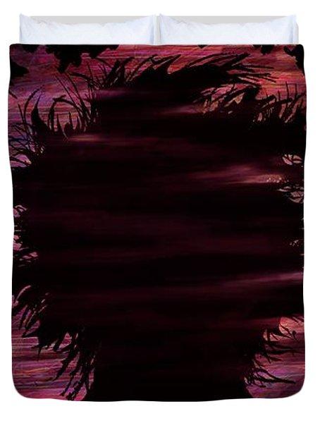 Narcissus Duvet Cover by Rachel Christine Nowicki