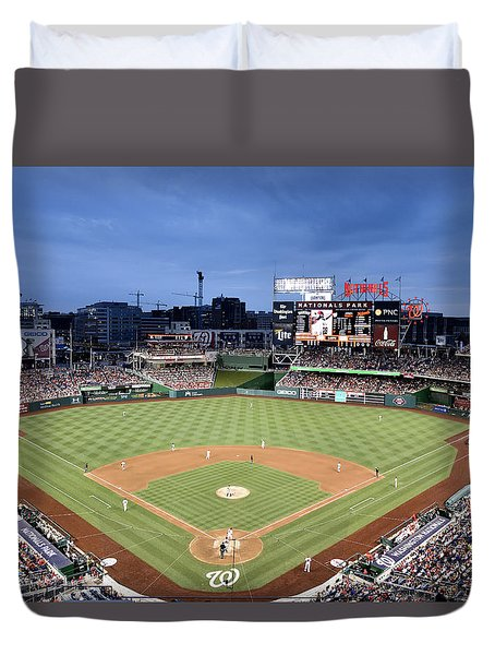 Nats Park - Washington Dc Duvet Cover