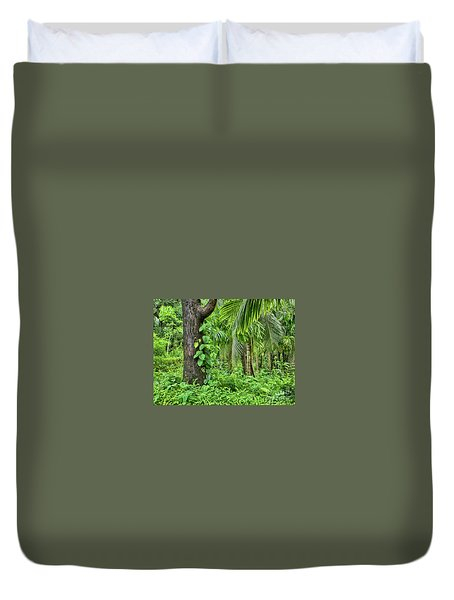 Duvet Cover featuring the photograph Nature 7 by Charuhas Images