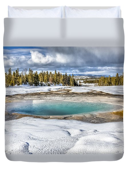 Nature's Painting Duvet Cover