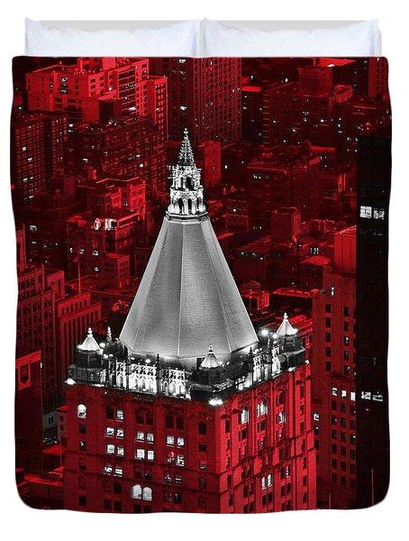 New York Life Building Duvet Cover