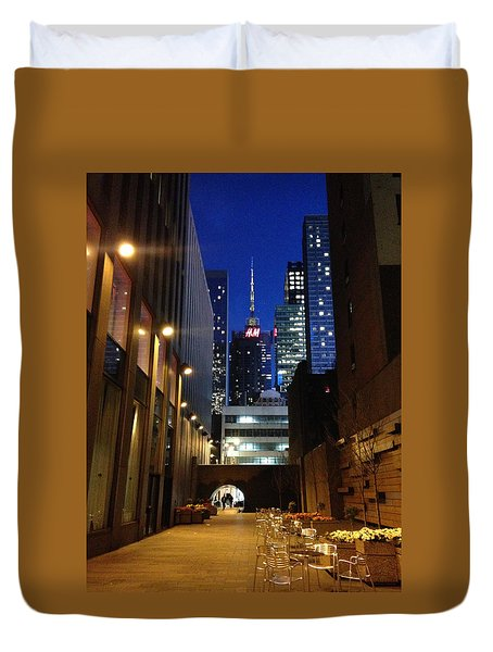 New York Night Duvet Cover