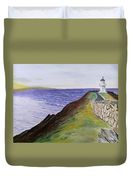 New Zealand Lighthouse Duvet Cover