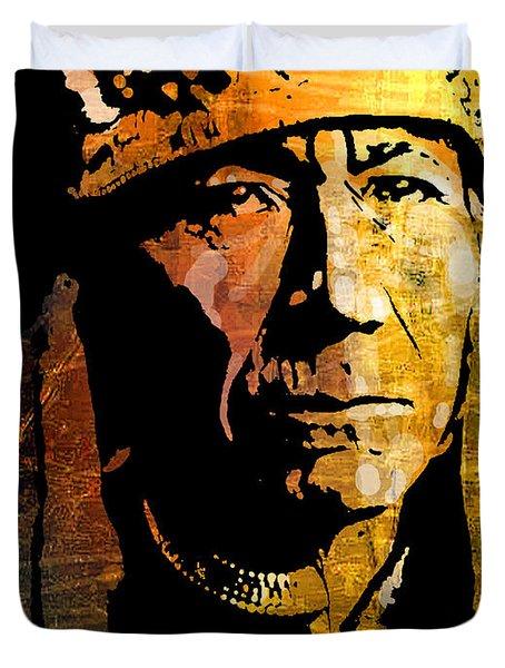 Nez Perce Chief Duvet Cover