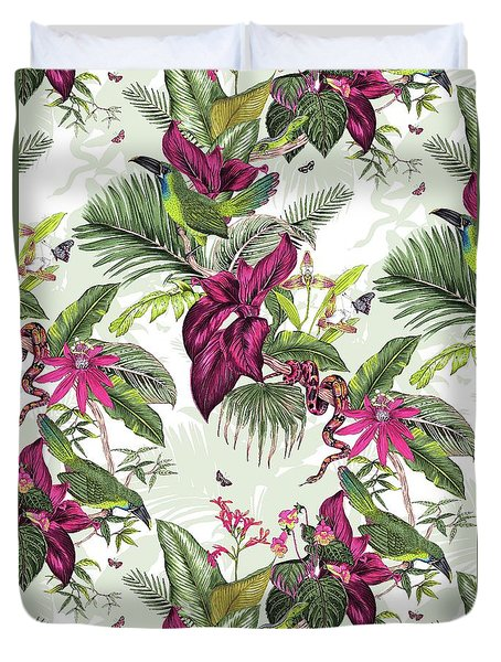Nicaragua Duvet Cover by Jacqueline Colley