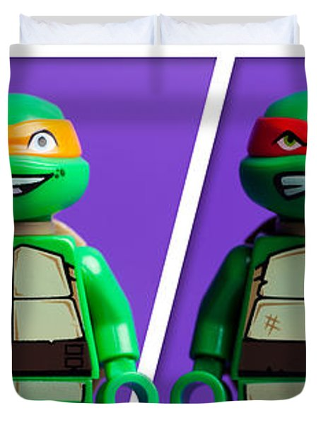 Ninja Turtles Duvet Cover