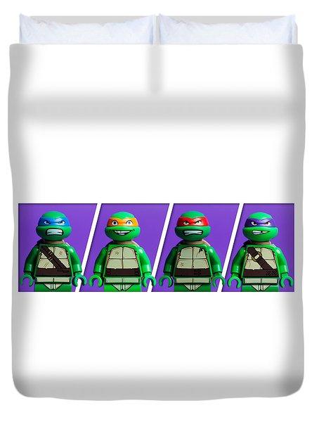Ninja Turtles Duvet Cover