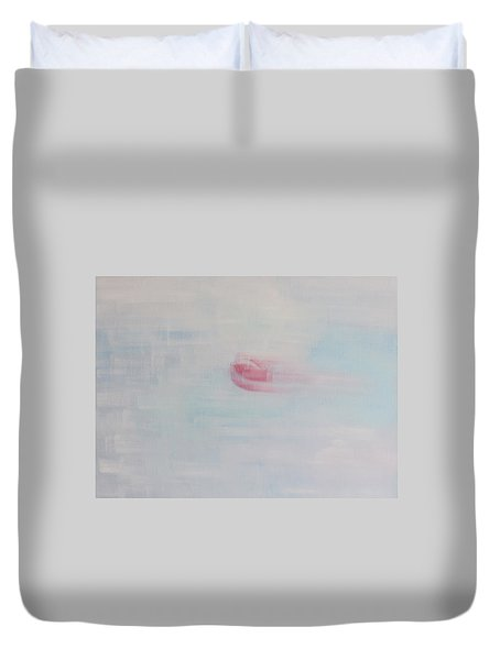 Letting Things Take Their Own Course Duvet Cover