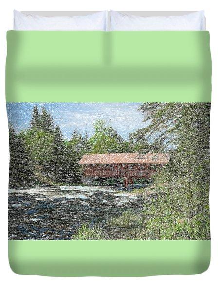 North Country Bridge Duvet Cover