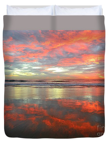 North County Reflections Duvet Cover
