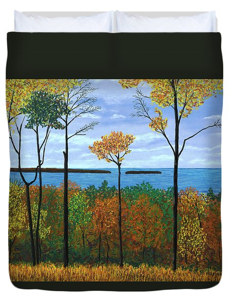 North Orchard View Duvet Cover