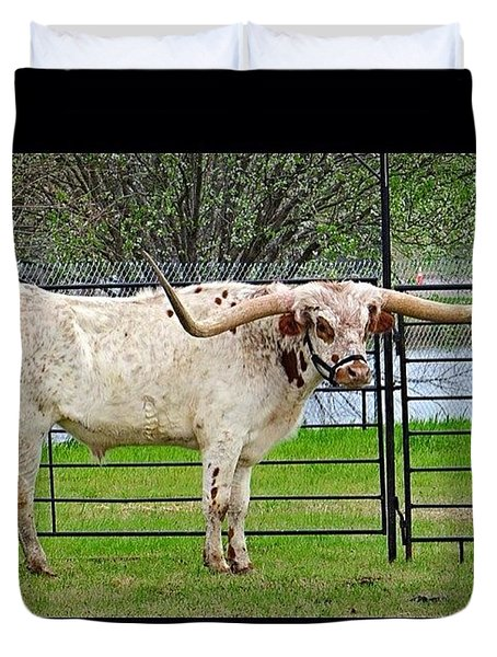 Nothing Like A Big #tough #texas Duvet Cover