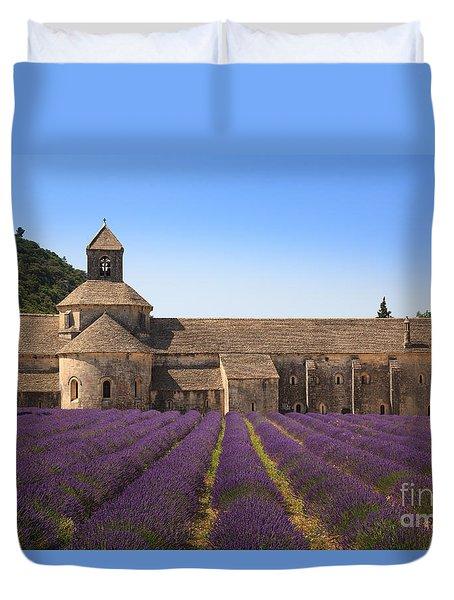 Notre-dame De Senanque  Abbey Provence France Duvet Cover