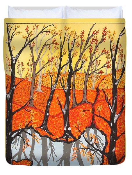 November Morning  Duvet Cover