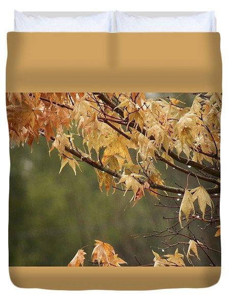 November Rain Duvet Cover