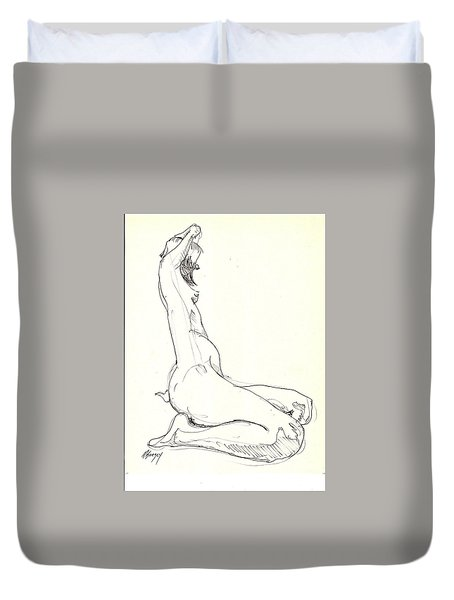 Nude 11 Duvet Cover