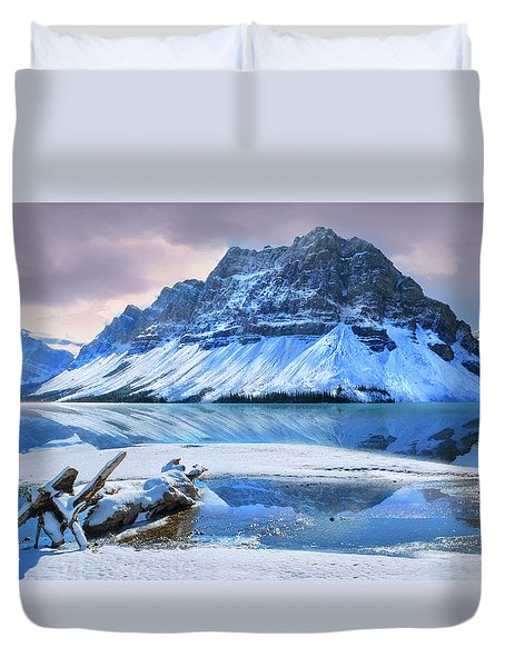 Duvet Cover featuring the photograph Num Ti Jah by John Poon
