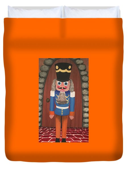 Nutcracker Sweet Duvet Cover by Thomas Blood