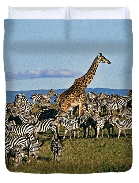 Odd Man Out Duvet Cover
