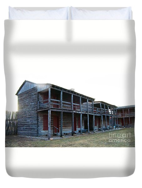 Old Fort Madison Duvet Cover