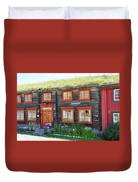 Old House Duvet Cover