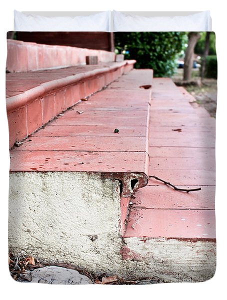 Old Steps Duvet Cover