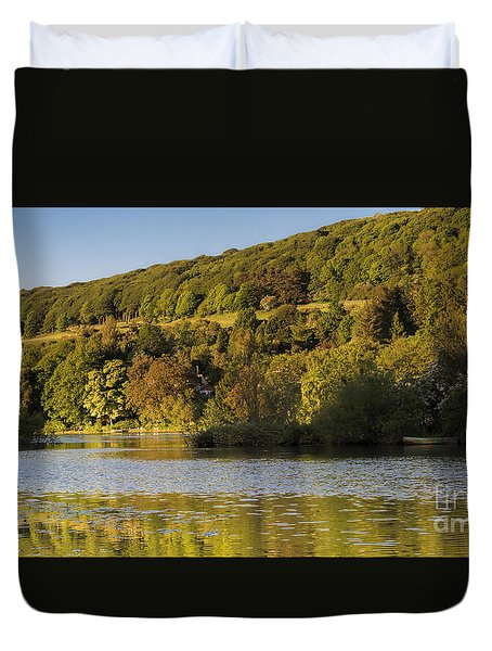 Olivers Mount Duvet Cover by David  Hollingworth