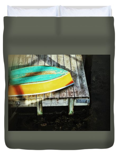 On Deck Duvet Cover by Olivier Calas