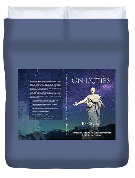 On Duties  Duvet Cover
