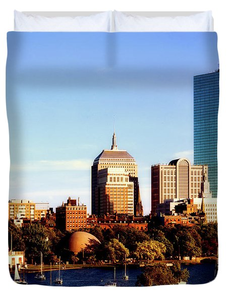 On The Charles Duvet Cover by L O C